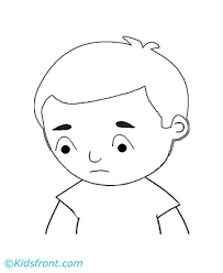 Homely Inpiration Sad Face Coloring Page New