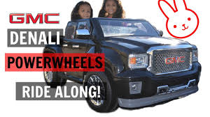 RIDE ALONG! In Our GMC Denali Power Wheels Truck! - YouTube Power Wheels Lil Ford F150 6volt Battypowered Rideon Huge Power Wheels Collections Unloading His Ride On Paw Patrol Fire Truck Kids Toy Car Ideal Gift Power Wheel 4x4 Truck Girls Battery 2 Electric Powered Turned His Jeep Into A Ups For Halloween Vehicle Trailer For 12v Wheel Vehicles Trailers4kids Rollplay 6 Volt Ezsteer Ice Cream Truckload Fob Waco Tx 26 Pallets Walmart Big Ride On Battery Powered Toyota 6v Top Quality Rc Operated Cars Jeeps Of 2017
