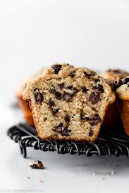 bakery style chocolate chip muffins sally s baking addiction