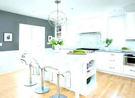 White And Grey Kitchen Ideas Brick Gray In Modern