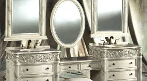 Shabby Chic White Bathroom Vanity by Mirror Shabby Chic Bathroom Mirrors Bright Shabby Chic Bathroom