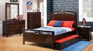 football bedroom sets buy nfl furniture for boys rooms
