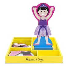 Amazoncom BALLERINA LEAH MAGNETIC DRESS UP Toys Games