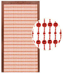 Bamboo Beaded Door Curtains Australia by Silver Beaded Door Curtain By Country Club Amazon Co Uk Kitchen