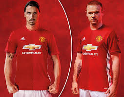 Manchester United New Home Shirt 2016 17