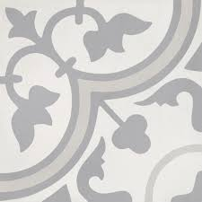 cement tile d繪cor 4 classic white grey light grey
