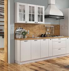 landhaus küchenzeile einbauküche lora 240 cm 7 teilig im