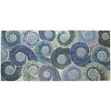 mosaic swirls wall panel red pier 1 imports art pinterest