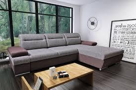 ecksofa eckcouch sofa schlaffunktion bettkasten ausführung wählbar wohnzimmer