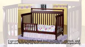 Bratt Decor Crib Assembly Instructions by Convertible Baby Cribs Youtube