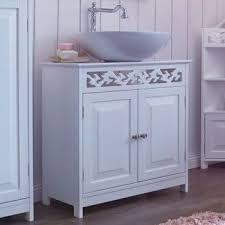 badschrank weiß waschbeckenschrank badmöbel landhaus