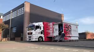 100 Roadshow Trucking Huawei 5G Truck Coming To Brussels 15 October YouTube