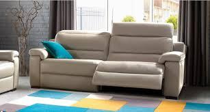 mobilier canapé ensemble canapé 3 places et 2 fauteuils en cuir toronto toulon