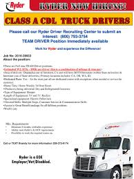 100 Ryder Truck Driving Jobs Now Hiring Class A Cdl Drivers Ppt Download