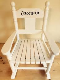 Children's Small Rocking Chair Personalised With Child's Name From Powell  Craft Any Name Any Font White Child Toddler Small Rocking Chair In Dawlish Devon Gumtree Rocking Chair For Small Spaces Chairs Antique Gustav Stickley W4168 Heirloom With Cushions Mller Living Rocker Takestop Set Of 2 Wooden 15 Cm Decoration Best Glider Recliner Nursery Childs Bentwood C1920