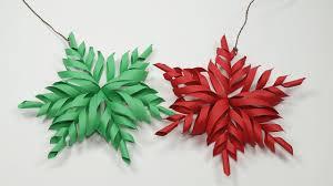 3D Snowflake DIY Tutorial