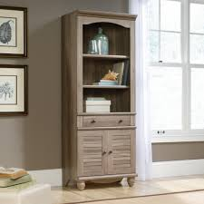 Sauder Harbor View Dresser Salt Oak by Harbor View Library With Doors 419911 Sauder
