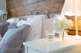 Bed Room Decorating White And Grey 3
