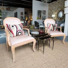 100 Roche Bois Furniture Pair Of Serge Style Faux Arm Chairs
