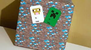 Minecraft Pumpkin Stencils Free Printable by Free Minecraft Printable Gift Tags Creeper U0026 Sheep Surviving A