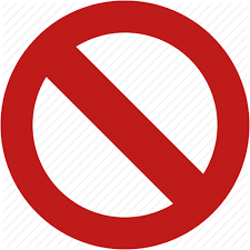 Free Icons Png No Entry Stop Forbidden Icon