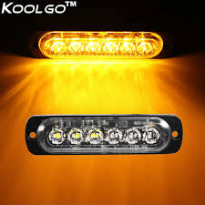 6 Led Side Strobe Marker Lights Car Truck Amber Flashing Emergency ... Mengs 1pair 05w Waterproof Led Side Marker Light For Most Buses Universal Surface Mount For Truck Amberred 2018 4x Led Fender Bed Lights Smoked Lens Amber Redfor 130 Boreman V 112 13032018 American 2pcs 6 Clearance Indicator Lamp Trailer 4pack X 2 Peaktow Round Submersible United Pacific Industries Commercial Truck Division 1ea Of An Arrow B52 55101 Amber Marker Lights Parts World 4 X 8led Side Marker Lights Clearance Lamp Red Amber Trailer Best Quality 5x Teardrop Style Cab Roof 2pcs Yellowred Car