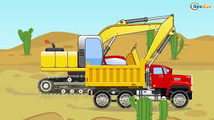 The Big Truck & The Excavator - Construction Trucks Video - World ... Cartoons For Children The Excavator Cstruction Trucks Video Learn Colors With Truck Video Kids Youtube Australia Vehicles Toys Videos Yellow Crane And Tractor Toy Dump Tow Truck Garbage Monster Compilation L Videos For Kids Heavy Photos Of Group 73 Street Sweeper Street Sweepers Bulldozer Children Grouchy The Vs