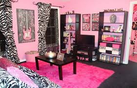 Pleasant Pink And Zebra Room Decor Top Home Decoration Ideas Designing With