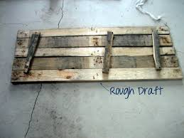 This Is A Rough Layout Of How Your DIY Pallet Sign Should Look Before Nailing Together