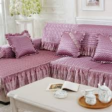 3 Seat Sofa Cover by 4colors 2 3 Seat Sofa Covers Silk Fabric Lace Eco Friendly Anti