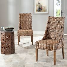 Safavieh Dining Rural Woven St Thomas Indoor Wicker Brown Sloping Arm  Chairs (Set Of 2) Bainbridge Ding Arm Chair Montecito 25011 Gray All Weather Wicker Solano Outdoor Patio Armchair Endeavor Rattan Mexico 7 Piece Setting With Chairs Source Chloe Espresso White Sc2207163ewesp Streeter Synthetic Obi With Teak Legs Outsunny Coffee Brown 2pack Modway Eei3561grywhi Aura Set Of 2 Two Hampton Pebble