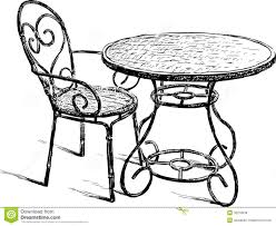 Table And Chair Stock Vector. Illustration Of Restaurant ... Chair Interesting Target Patio Chairs With Amusing Eastern Childrens Table And Set Costco Fniture Excellent Seating Solution By Folding At Prod 1900402412 Hei 64 Wid Qlt 50 Good Looking Card Tables Marvelous Bar White Outdoor C Kitchen Sets Rustic Private For Beautiful Daycare Argos Wooden Angeles Childs Asda Toddler Wicker Kids Normandieusa Stacking Dectable Stool Height Child