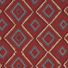 Rustic Brown And Orange Floral Outdoor Upholstery Fabric