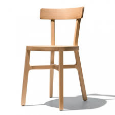 stuhl für küche oder esszimmer aus massiver buche made in italy cima