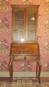 Ethan Allen Secretary Desk With Hutch by Ethan Allen Country French Dropfront Secretary 26 9204 Antiqued