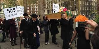 The Vigil For Madame Jojos In Soho November 29 2014