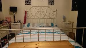 leirvik bed frame leirvik bed frame slatted bed base suitable and beautiful