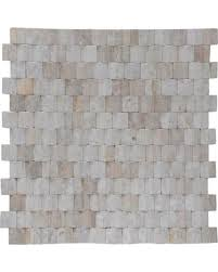 1575x1575 Terrace Wood Mosaic Chiffon Wall Tiles
