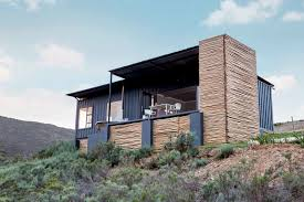 100 Shipping Container Cabins Plans Take In The South African Countryside In This