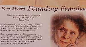Fort Myers Founding Females Portrait Exhibition