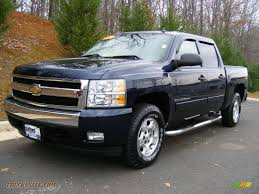 2007 Chevrolet Silverado 1500 LT Z71 Crew Cab 4x4 In Dark Blue ...
