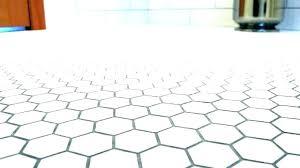 White Hexagon Product Details Elongated Backsplash
