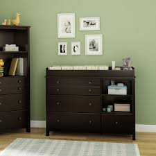 South Shore 6 Drawer Dresser Espresso by South Shore Little Smileys Changing Table Hayneedle