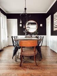 moderne vintage house tour schwarz lackiert