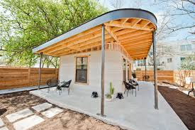 100 House And Home Pavillion The Tiny House Made With A 3D Printer At SXSW Is Adorable And