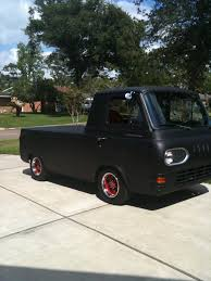 100 Econoline Truck My 1961 Ford Rat Rod 302 V8 Motor Auto With A