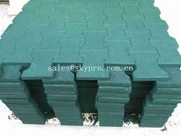 Rubber For Patio Paver Tiles by Driveway Rubber Patio Pavers Anti Slip Recycled Rubber
