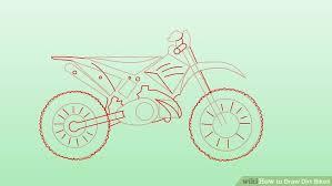 Drawn Pushbike Dirt Bike 2