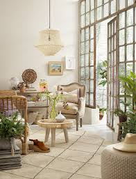 bohemian style living room with buy image 12672565