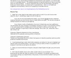 Manufacturing Resume Sample Examples Inspirational Data Entry
